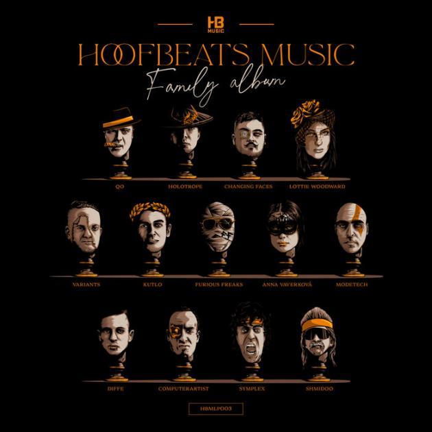 Various Artists - The Hoofbeats Family Album