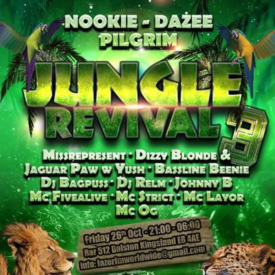Jungle Revival 3 London