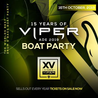 Viper Boat Party @ ADE (October 16th 2019)