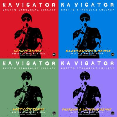 Navigator, P Skinna - Ghetto Strugglaz Lullaby (Remixes)