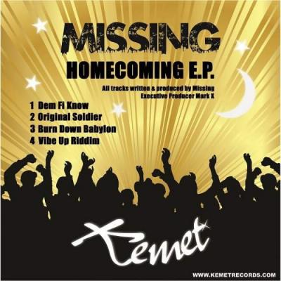 Missing - Homecoming EP